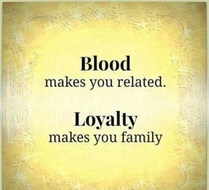 family #loyalty