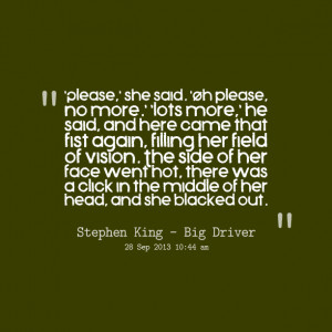 Quotes Picture: please, she said oh please, no more lots more, he said ...