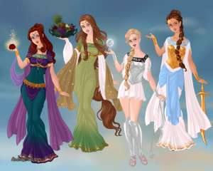 Hera Greek Goddess Family