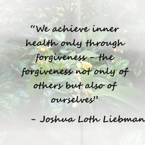 Inspirational Quotes: Forgiveness
