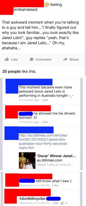 24 People Caught Lying On Facebook