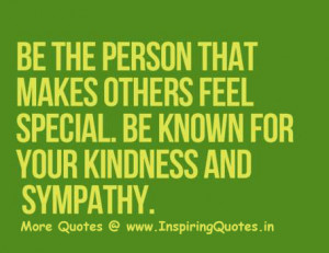 Kindness and Sympathy Quotes, Motivational Thoughts and Sayings