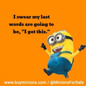 Women belong in the kitchen… #funny #women #life #minionquote