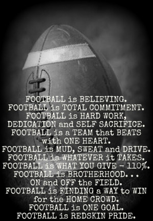 quotes football goals quote football is an honest game motivational ...