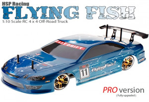 ... Brushless Scale Electric On Road Drift Car (1/10 Blue Pro Edition