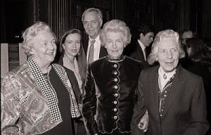 ... Nancy Mitford Diaries' at a book launch party held at The Reform Club