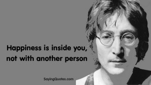john lennon quotes about happiness