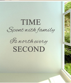 Time-spent-with-family-is-worth-every-02-Vinyl-wall-decals-quotes ...