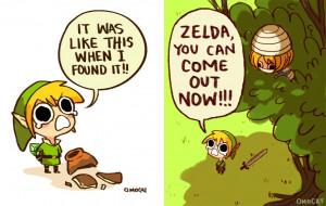 omocat zelda legend of zelda