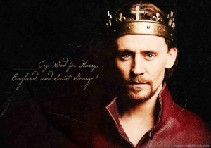 Tom Hiddleston in The Hollow Crown,