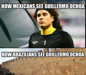 Memy po meczu Brazylia - Meksyk