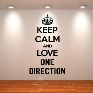 Keep-Calm-And-Love-One-Direction-Wall-Quotes-Wall-DIY-Vinyl-Art ...