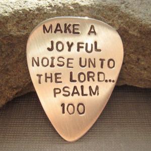joyful noise...