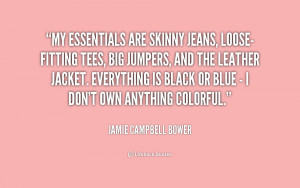 Skinny Jeans Quotes
