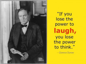 Clarence Darrow Quotes To think - clarence darrow