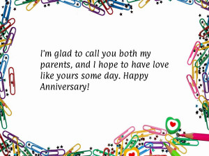 Anniversary quotes for parents