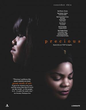 Precious Movie Quotes Precious' life is as bad as it