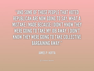 James Hoffa Quotes