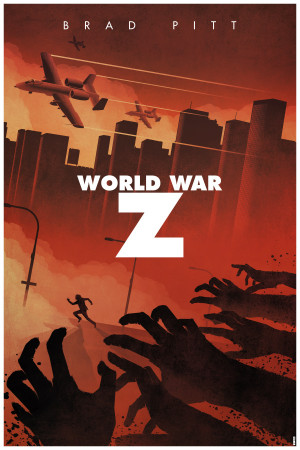 11 Stunning Fan-Made Posters For 'World War Z' – Starring Brad ...