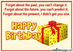 Birthday Funny Ments...