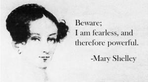 Happy 215th birthday, Mary Shelley !