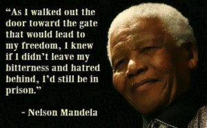 ... to end apartheid in South Africa touched and inspired us all