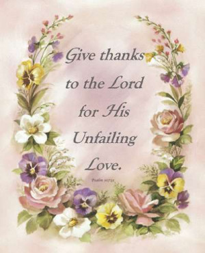 Give Thanks By Alan Grant