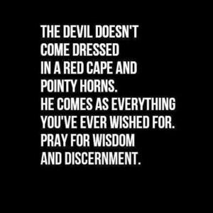 the devil is so busy