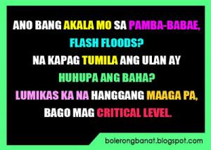 Tagalog Quotes Patama Sa Malalandi Ano ba ang akala mo sa