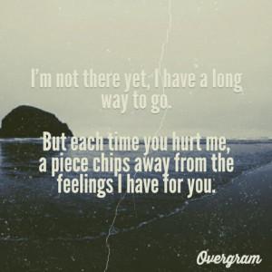 Feelings Heart Broken Hurt...
