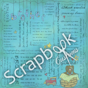 brother quotes paper physical scrapbooking pic 6 www scrapbookcustoms ...