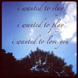 Dave Matthews Band #41 lyrics. DMB song lyrics / quotes.