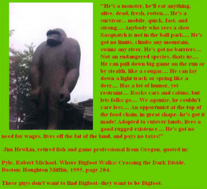 funny bigfoot quotes
