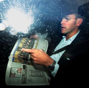 James Murdoch in pictures