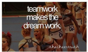 Cheerleading quotes, inspiring, motivational, sayings, teamwork