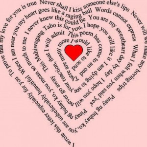 Cute short love poems pictures 2