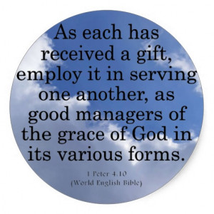 Bible Quotes About Serving Others http://www.zazzle.com/using_gifts ...