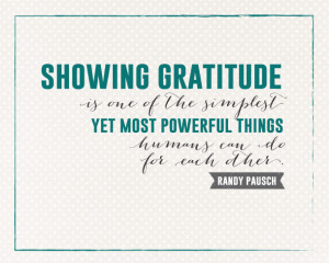 Sunday Encouragement: Showing Gratitude | landeelu.com