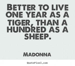 madonna success print quote on canvas create custom success quote