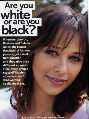 Rashida Jones Glamour Magazine