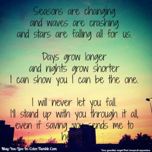 Red Jumpsuit apparatus~Your Guardian Angel