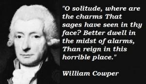 William cowper famous quotes 4