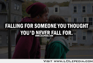 Falling Hard for Someone Quotes