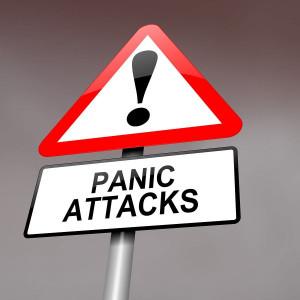 Panic attack warning
