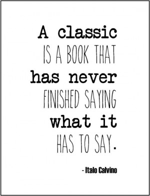Literary Quote Classic Books Typography Print Love For Librarian