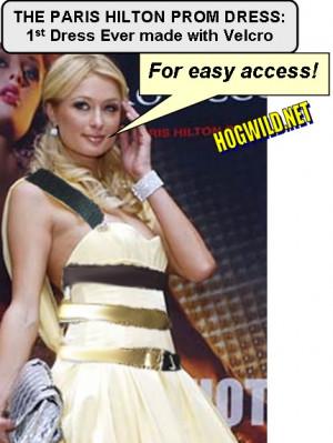 This Paris Hilton Prom Dress