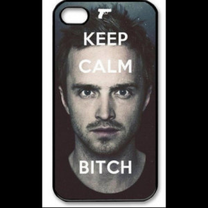 Coque Iphone Breaking bad Jesse Keep calm bitch