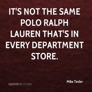 Polo Ralph Lauren Quotes