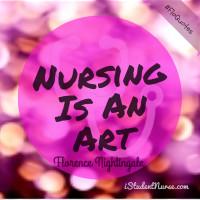 FloQuotes-Florence Nightingale Quote-Nursing is an Art-IG@ ...
