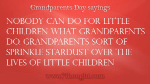 Grandparents Day 2014, Sayings, Poems